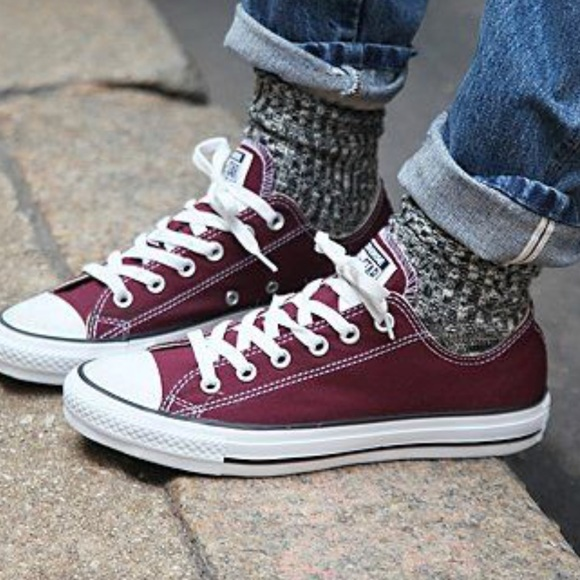 87a5863c853 Converse Other - 🌼EUC Burgundy Chucks size 3